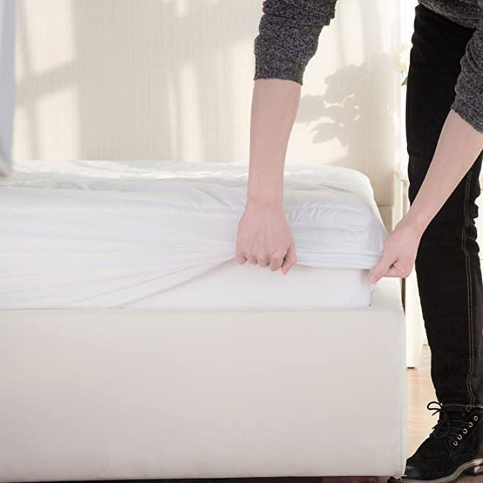 Amazon: Ultra Soft Quilted Mattress Pad Queen Size: $16.73 AC FS w/ Prime