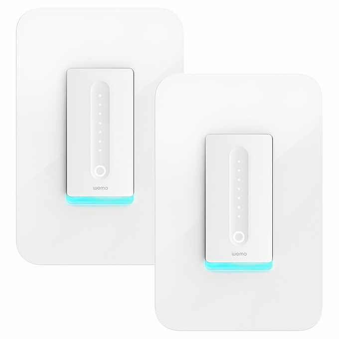 Wemo Dimmer 2-pack. $59.99 Costco