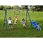 Flexible Flyer Fun-Time-Fun Metal Swing Set  at Walmart for $90 + free shipping