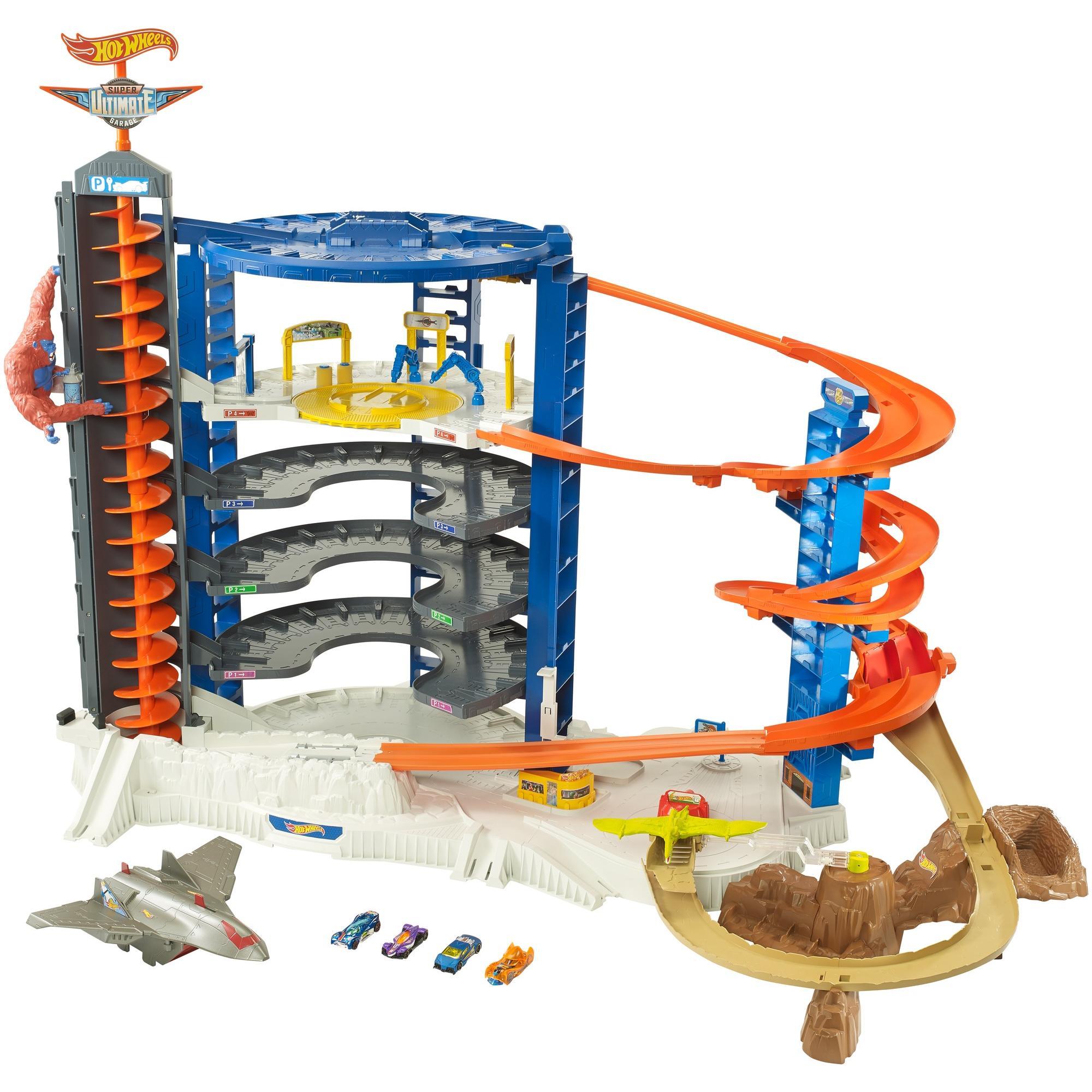 Hot Wheels Super Ultimate Garage Play Set + Accessories $140