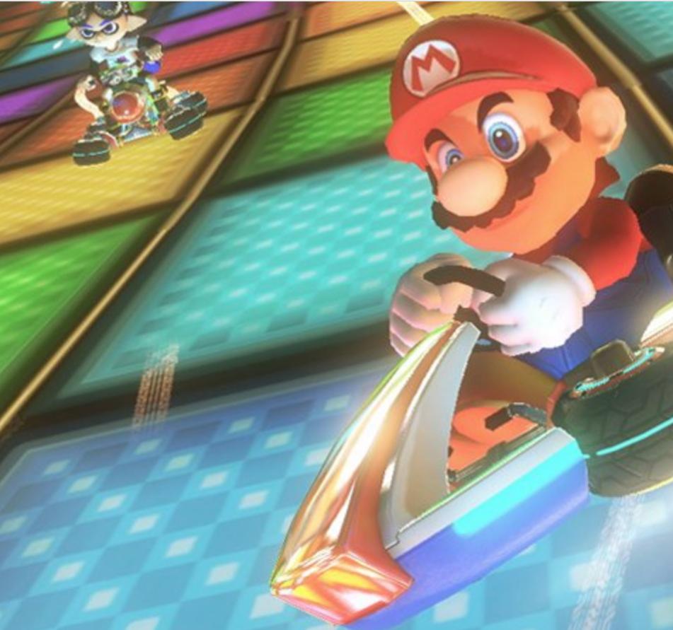 Mario Kart 8 Deluxe - Nintendo Switch [Disc, Standard, Nintendo Switch] $49.99