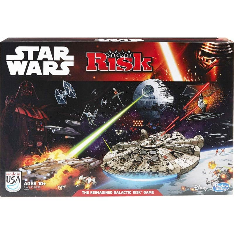 Fry's Star wars Board Games 50% off - Star Wars Risk $9.99 Ships Free Other Games Too