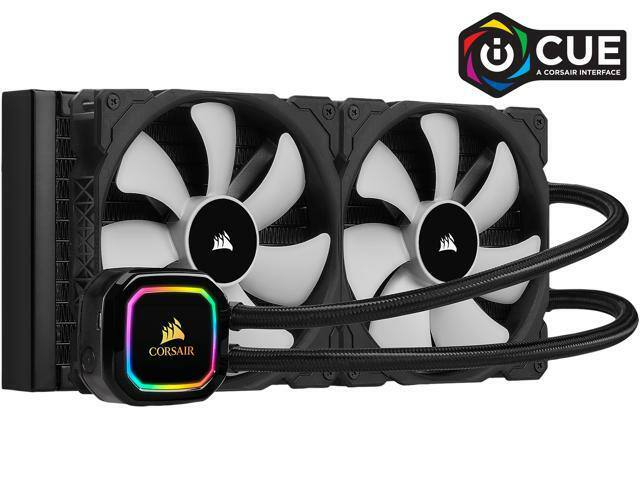 CORSAIR iCUE H115i RGB PRO XT, Liquid CPU Cooler - $89.99 (after $20 rebate card + 10 newegg GC)