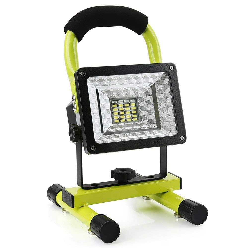 15W 24 LED Outdoor Spotlights with USB Port $21.69