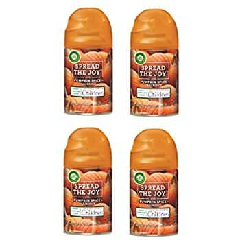 Air Wick Freshmatic 4 Refills Automatic Spray, Pumpkin Spice - $11.99 ($2.99 each) with Free Shipping