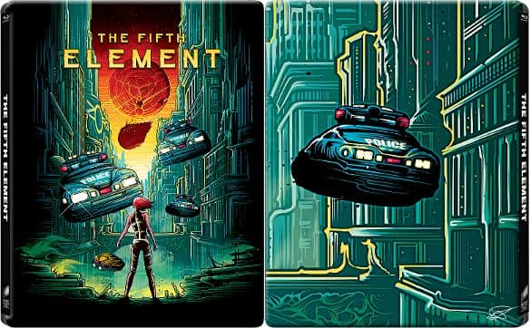 The Fifth Element Blu-Ray Steelbook + Snatch Steelbook $15 Best Buy