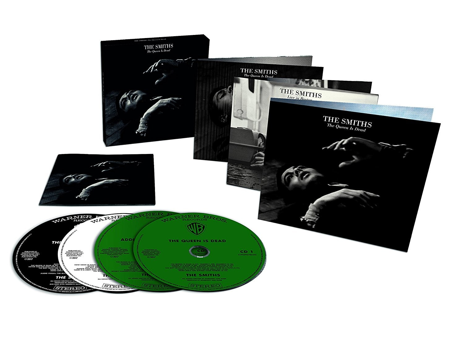 """The Smiths """"The Queen is Dead"""" Import 3CD+1DVD $20 YMMV $20.43"""