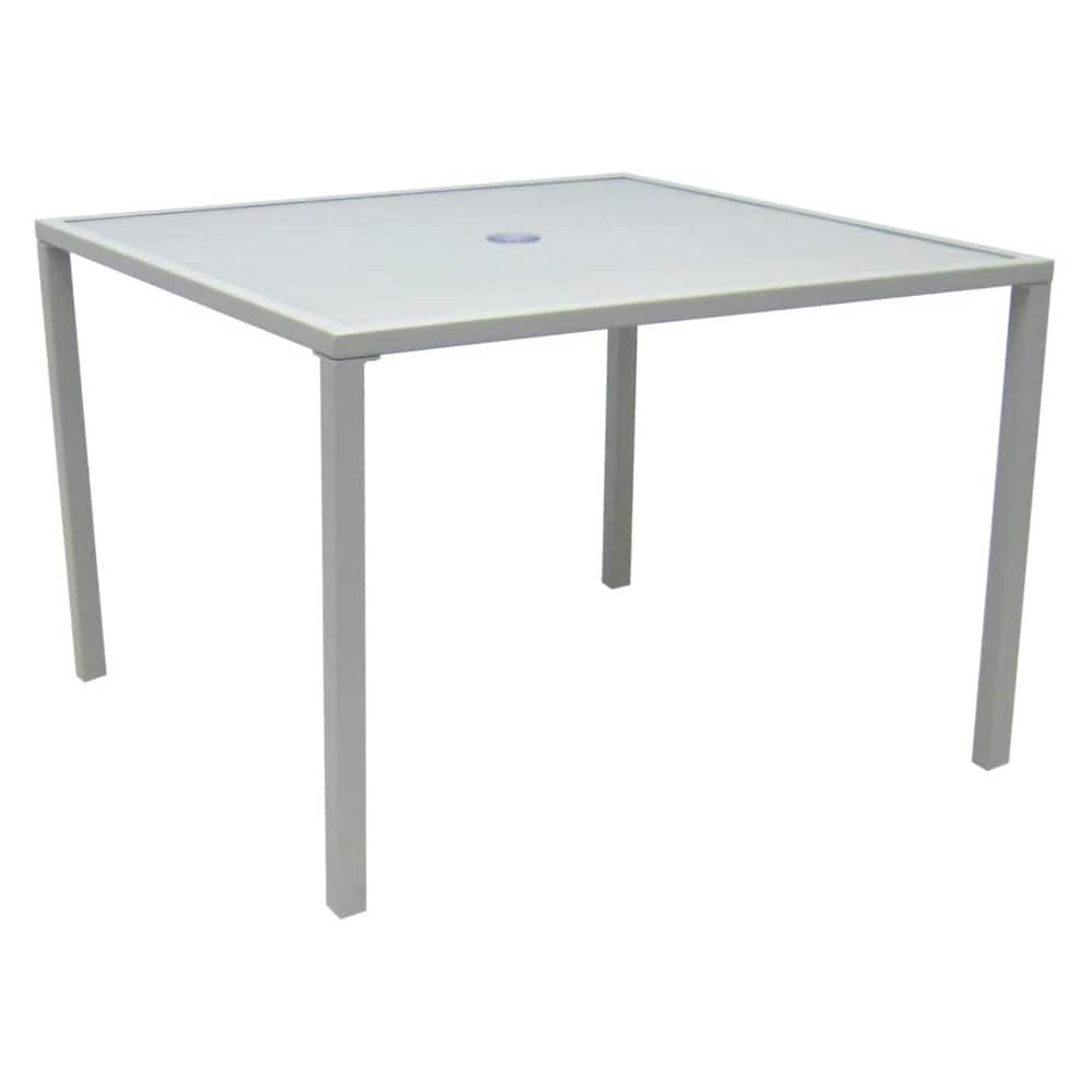 Patio dining glass table - Target -YMMV -(Save 70%) - @$35.70