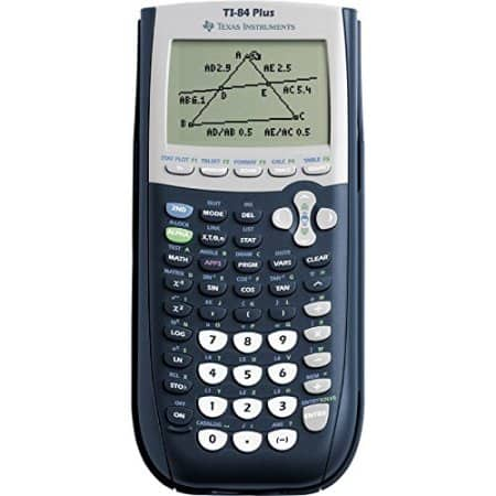 Texas Instruments TI-84 Plus Programmable Graphing Calculator Black $88 + FS