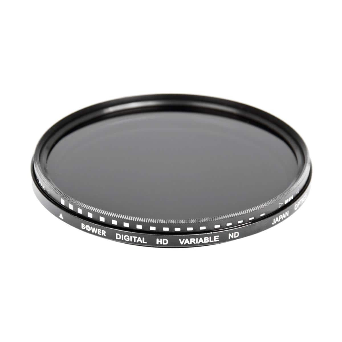 Bower 77mm Variable Neutral Density (ND) Filter - 2 to 8 Stops - $21.95 (82mm - $29.95)