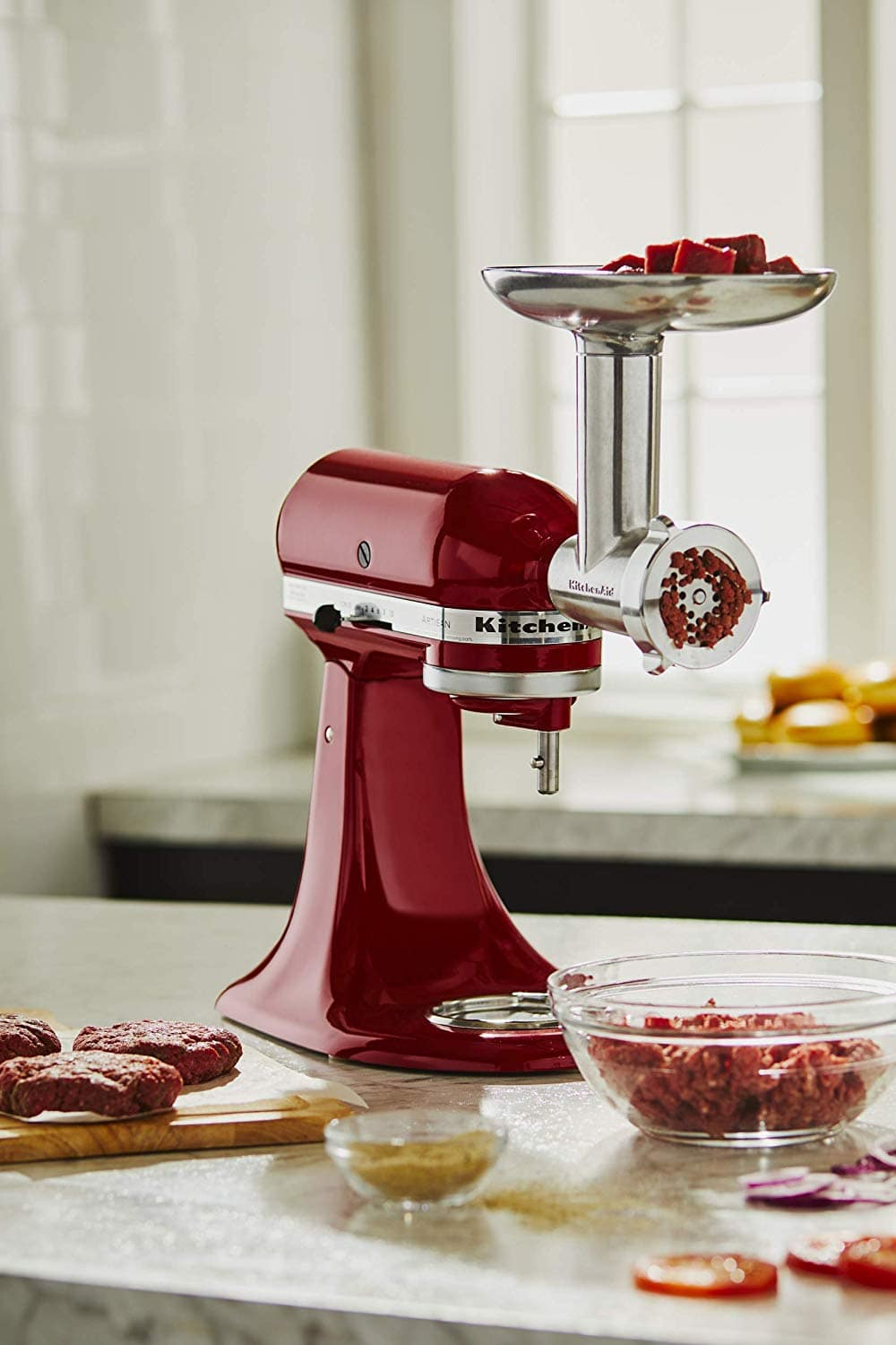 KitchenAid KSMMGA Metal Grinder Attachment $52.48
