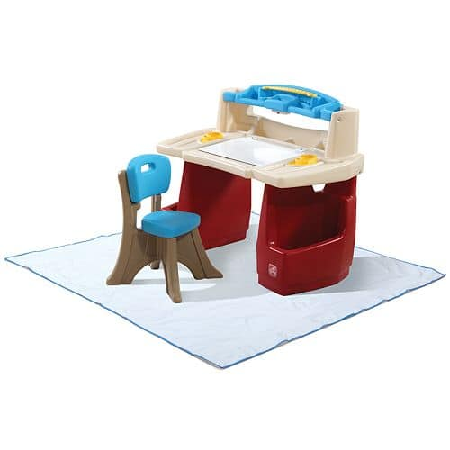 Step2 Deluxe Art Desk with Splat Mat with KOHLS CHARGE $42