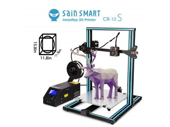 SainSmart Creality CR-10S 3D Printer on Woot! for 399.99 with free prime shipping $399.99