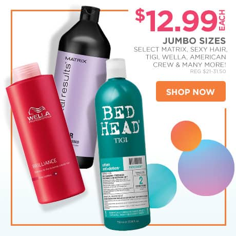 Ulta Jumbo Haircare Sale- Starting at $12.99 + $3.50 Off AC + $1 Liter Pump (Matrix, Bed Head, Redken, Paul Mitchell, Joico + many more)