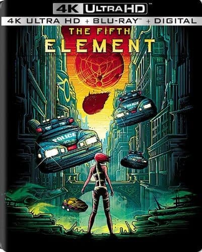 Fifth Element 4k UHD + Blu Ray + Digital Copy SteelBook (In-Store Only) $19.99 + tax