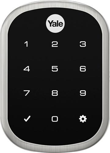 Yale - Assure HomeKit Enabled Combination Smart Door Lock - Satin Nickel $169.99