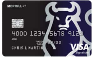 Merrill Lynch NO FEE Visa card $1000 bonus after spending