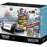 Frys Deal: Nintendo Wii U Super Mario 3D World Nintendo Land Deluxe Set 32GB $250AC IN STORE ONLY Frys