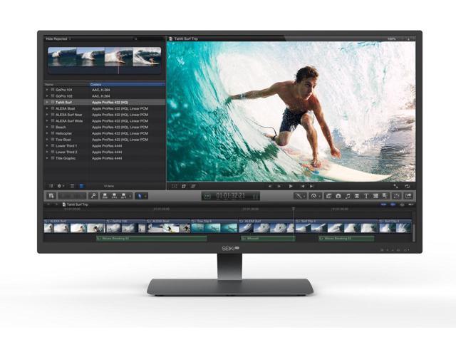 Seiki Pro SM40UNP 40.0-Inch 4K LED-Lit Monitor $499AC+FS till 9/10