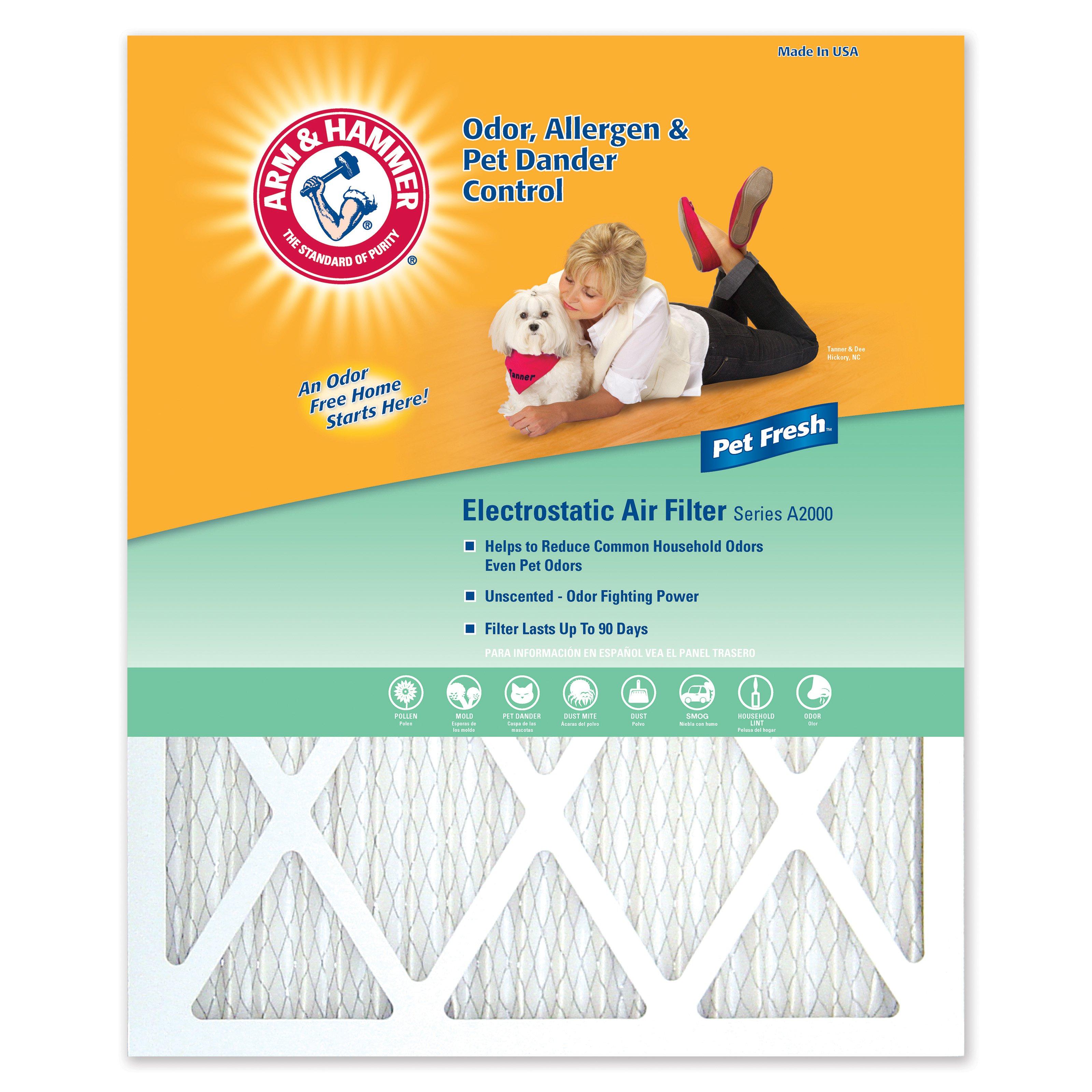 Arm & Hammer Pet Fresh Air Filter- 4 Pack $8.88 Wal-Mart