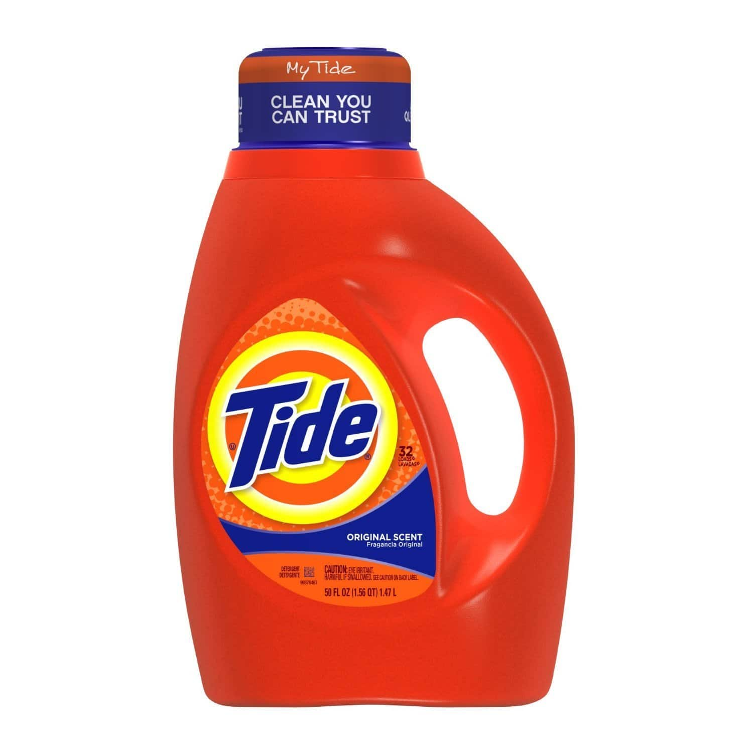Tide Detergent $6.75 per bottle of 100 oz $10 giftcard with 3 laundry, cleaning and, paper @ Target or Online