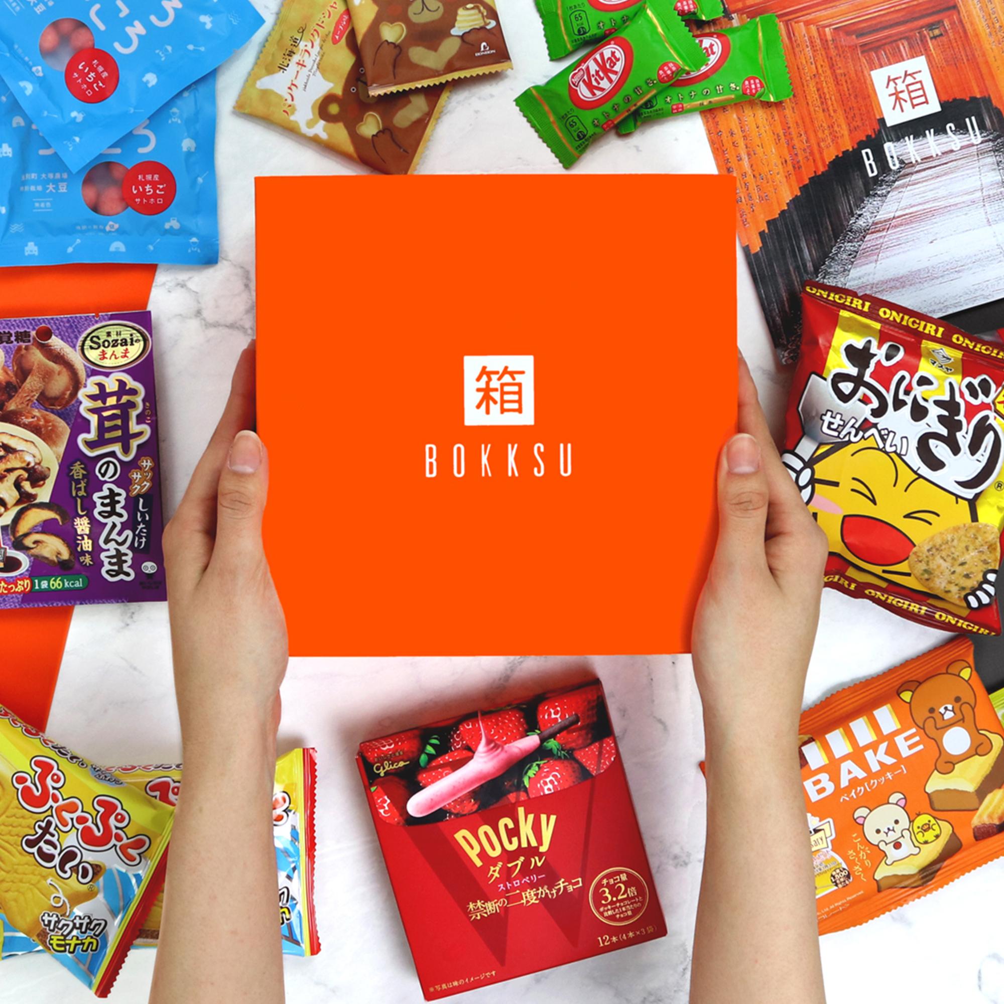Bokksu - Authentic Japanese Snack & Candy Subscription: Classic Box [Classic Bokksu] $21.84