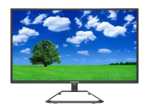 """eBay Sceptre U275w-4000r 27"""" 4K monitor $199.99; C325w-1920r 32"""" Curved Monitor $174.99 FS"""