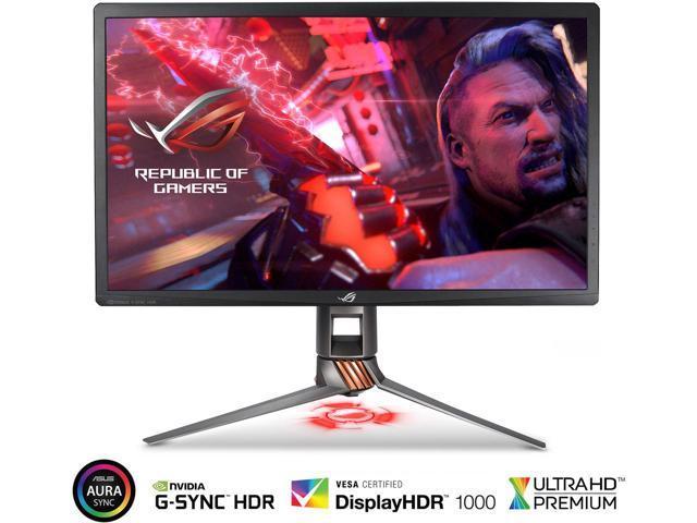 "ASUS ROG Swift PG27UQ 27"" 4K UHD 144Hz G-SYNC HDR Aura Sync Gaming Monitor $1499.99 FS"