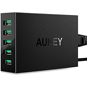 Prime Members: Aukey 6-Port USB Charger w/ Dual Quick Charge 3.0 $21.00