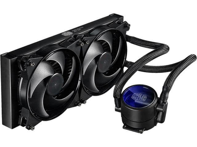 Cooler Master MasterLiquid Pro 280 All-In-One CPU Liquid Cooler - $99.99/fs @ Newegg