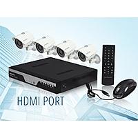 NeweggFlash Deal: Zmodo KDC8-YARUZ4ZN 8 Channel H.264 Level 960H DVR Security System with 4 x 700TVL Night Vision w/IR Cut Outdoor Cameras (No HDD) $139.99
