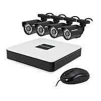 Newegg Deal: LaView LV-KD5184B Cube LaView LV-KD5184B Cube Series 8 CH Security DVR Cloud System w/ Easy DIY Four 600TVL Infrared Surveillance Cameras (No HDD) $99.99 FS @ Newegg