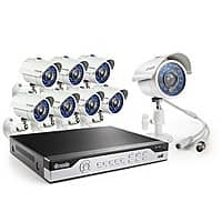 Newegg Deal: Zmodo KHI8-YARUZ8ZN 8 Channel H.264, 960H DVR Security System with 8 x 700TVL Night Vision w/IR Cut Outdoor Cameras $169.99 @ Newegg