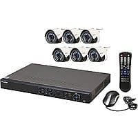 Newegg Deal: LaView LV-KN988P86A4 Premium IP Surveillance System 8 Channel NVR + 6 x Full HD 1080P Day/Night In/Outdoor Cameras $599.99 @ Newegg