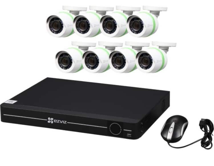 EZVIZ 8 Channel HD 1080p Surveillance Security System w/1TB HDD and 8 HD 1080p Bullet Cameras $399.99 @ Newegg
