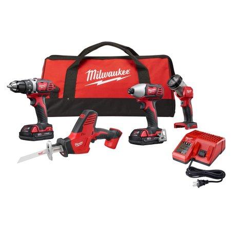 Milwaukee M18™ 4 Pc. Tool Combo Kit $239