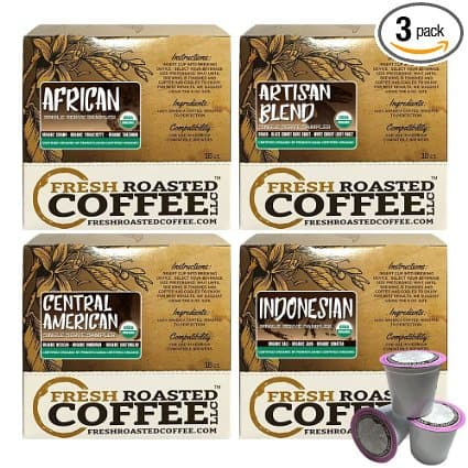 144 Organic Keurig K-Cup Coffee Pods for $0.21/count - Amazon, Prime Eligible