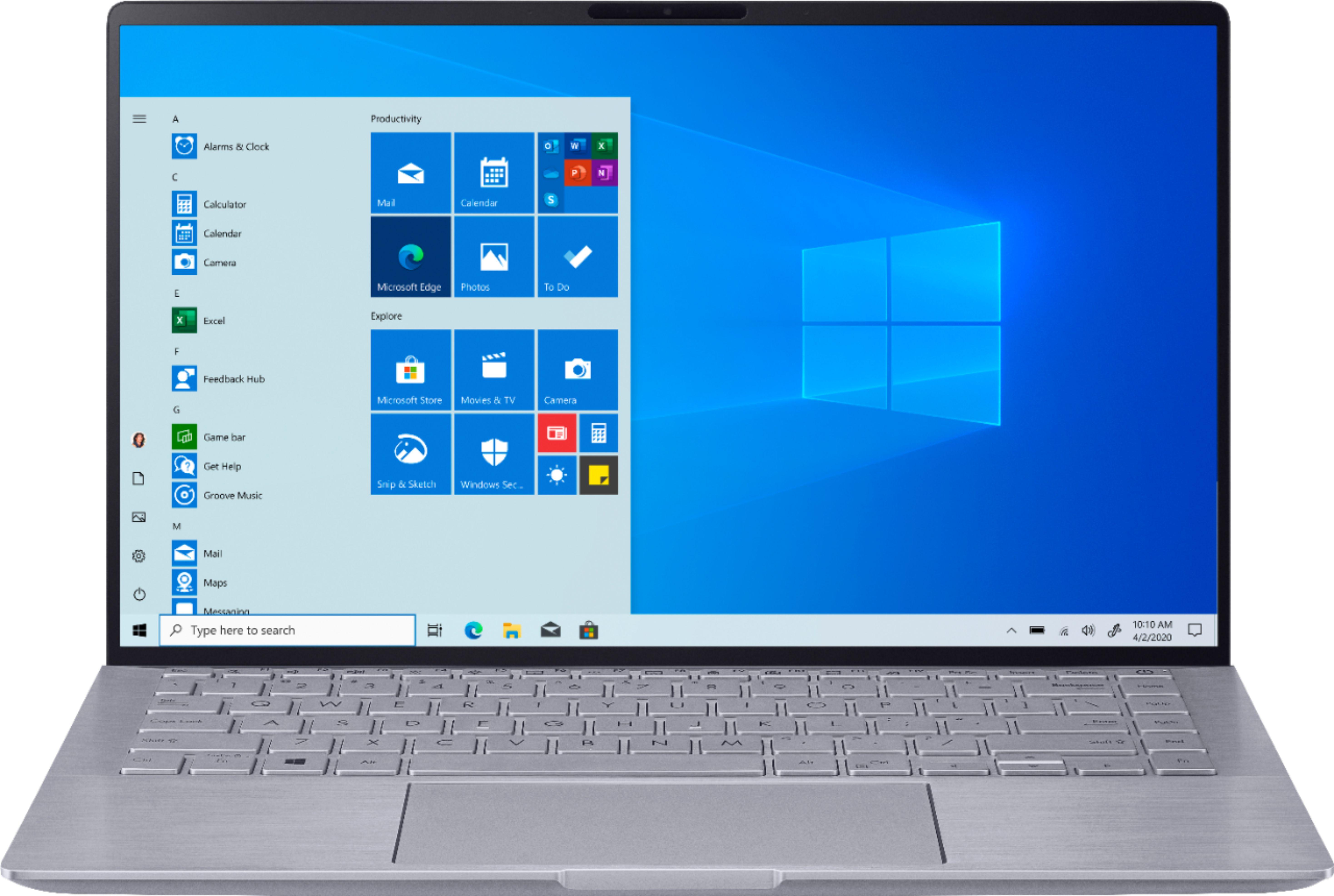 "Asus Zenbook Laptop: Ryzen 5 4500U, 14"" 1080p, 8GB RAM, 256GB SSD, MX350, Win 10 $599.99 + Free Shipping @ Best Buy"