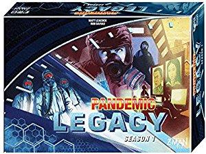 Pandemic Legacy Board Game: Season 1 (Blue) $36