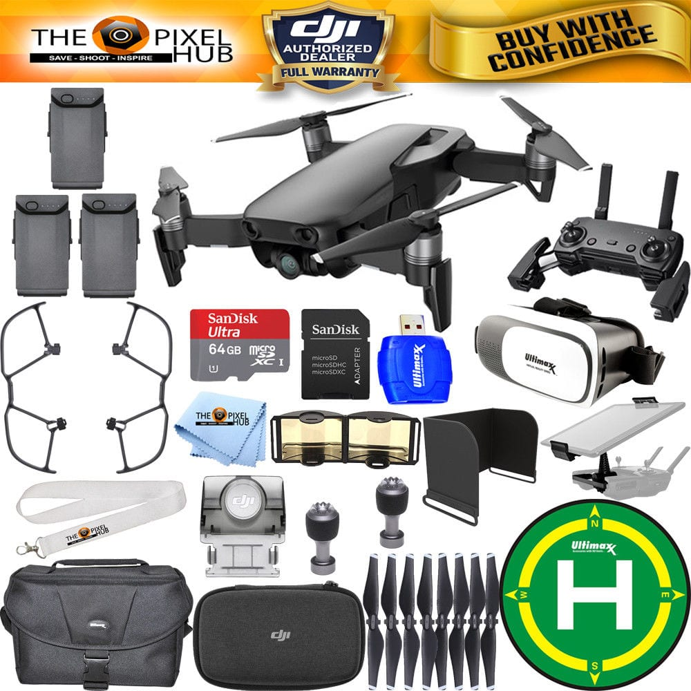 DJI Mavic Air (Oynx Black) 3 BATTERY All You Need Bundle $869.00 (After Ebay's Today Only: 20% Off)
