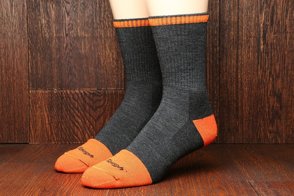 Darn Tough Mens Steely Socks (2-Pack) $29.99 F/S
