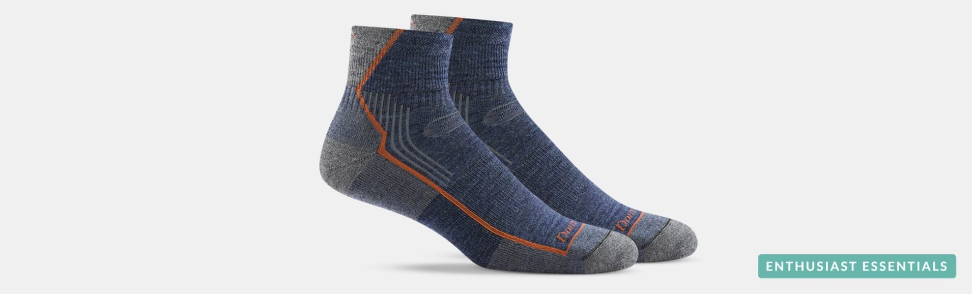 Darn Tough Hiker 1/4 Sock - Get 3 Same or Different Packs for $40.50 with free shipping (Massdrop)