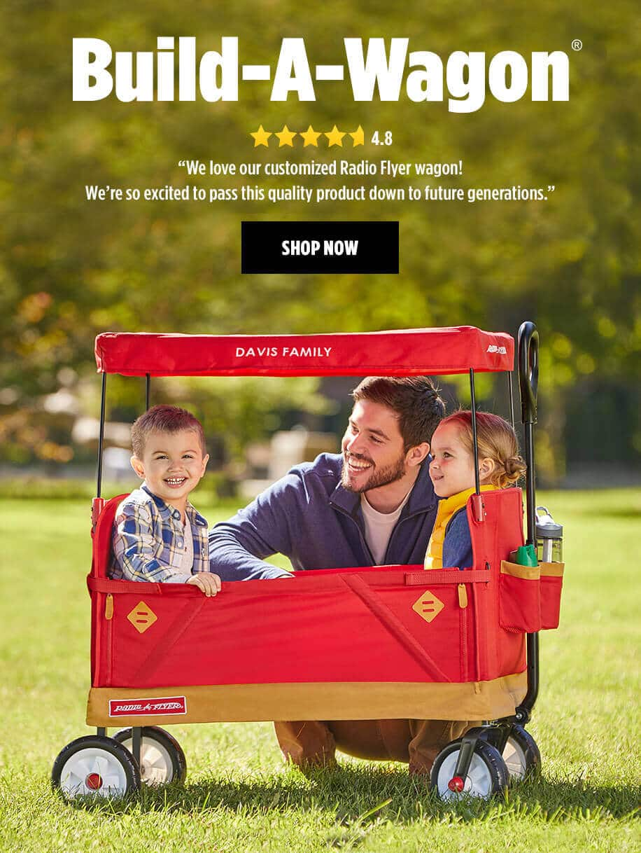 Radio Flyer Ultimate Folding Wagon 50% OFF & Free Shipping $55