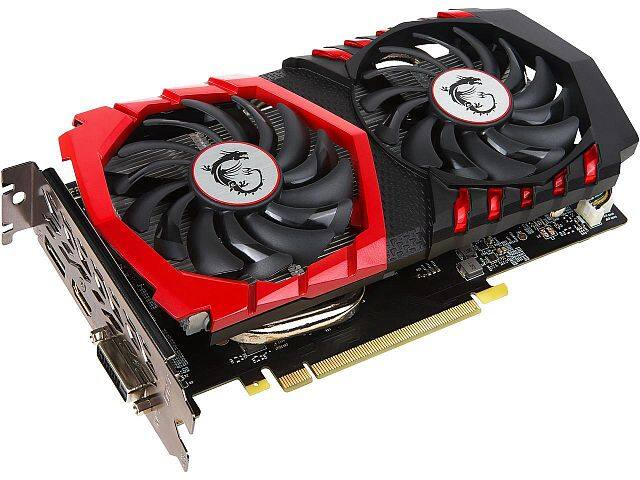 $140 AR MSI GeForce GTX 1050 Ti 4gb Video Card $139.99