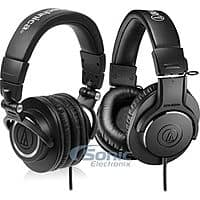 Sonic Electronix Deal: Audio-Technica Professional Headphones Bundle: ATH-M50X and ATH-M20X for $145 for Two Headphones with free shipping