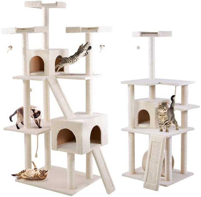"""Chewy.com 72"""" Frisco Cat Tree $56 and others on sale"""