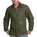 Carhartt Men's Big & Tall Ridge Coat Sherpa Lined Sandstone 3XLT Army Green $61.88 4XLT $35.96 FSSS