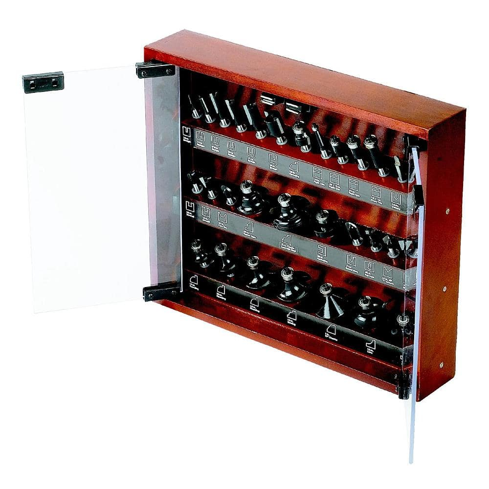 Craftsman Router Bit Set 30-pc Was on sale for $80, now $60 + $13 back in SWY, YMMV