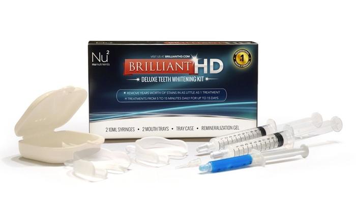 Brilliant HD Deluxe Teeth Whitening Kit $19.99