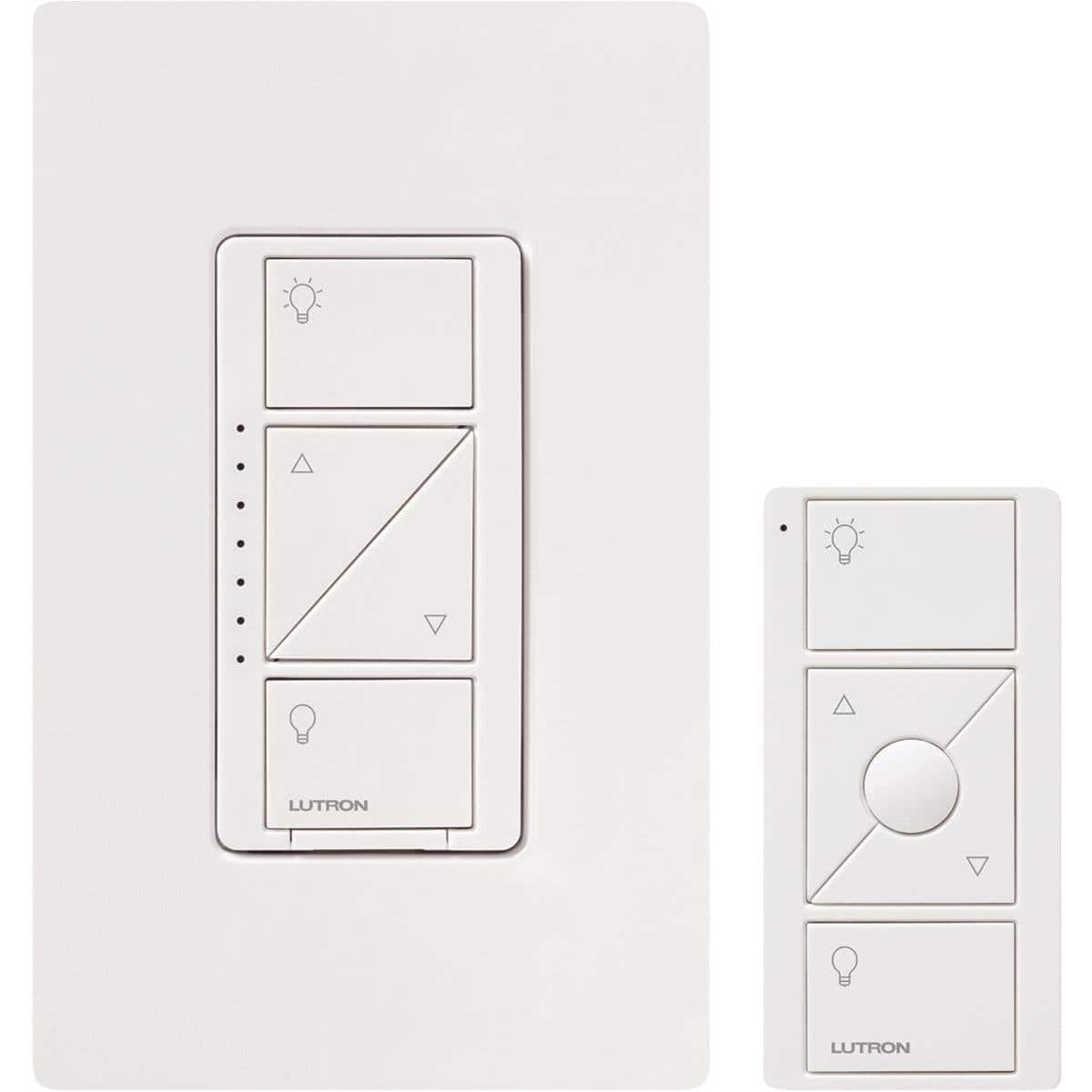 Lutron Caseta Smart Lighting Dimmer Switch and Remote Kit @Amazon $39.1